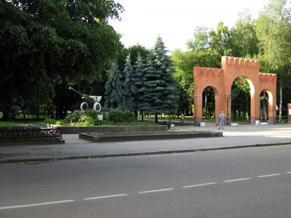 Парк культуры и отдыха под надежной охраной